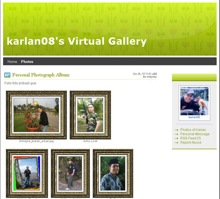 karlan08's virtual gallery
