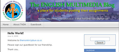 The English Multimedia Blog