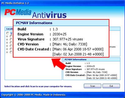 Virus Signature PCMAV+ClamAV